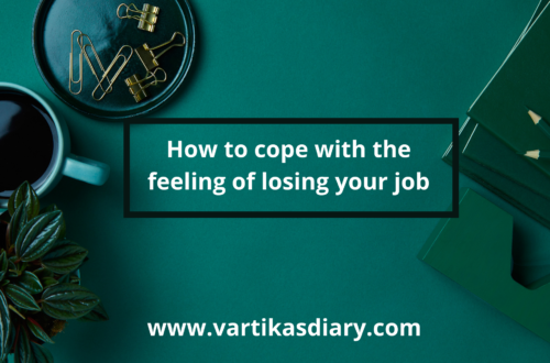 How to cope with the feeling of losing your job