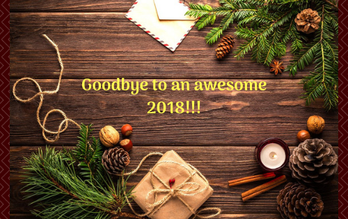 Goodbye to an awesome year