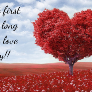 Love at first kiss, a long lasting love story