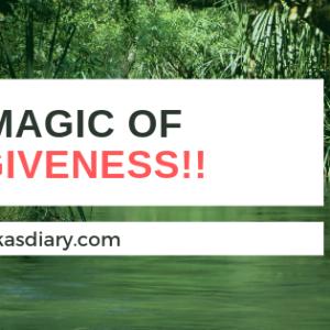 The magic of forgiveness