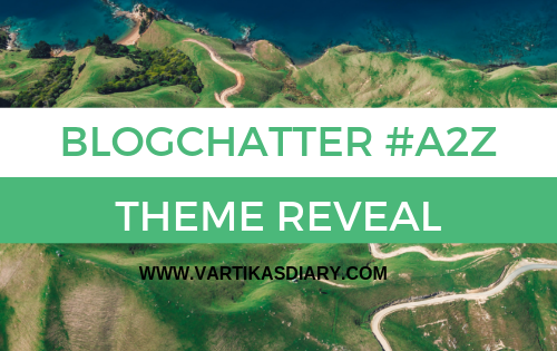 BLOGCHATTER @A TO Z THEME REVEAL