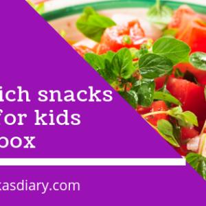 Iron-rich snacks ideas for kids tiffin box or your evening hunger pangs