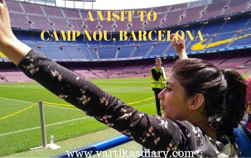 A VISIT TO CAMP NOU, BARCELONA