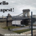 Hello Budapest! A weekend vacay to the beautiful city of Castles, bridges, baths