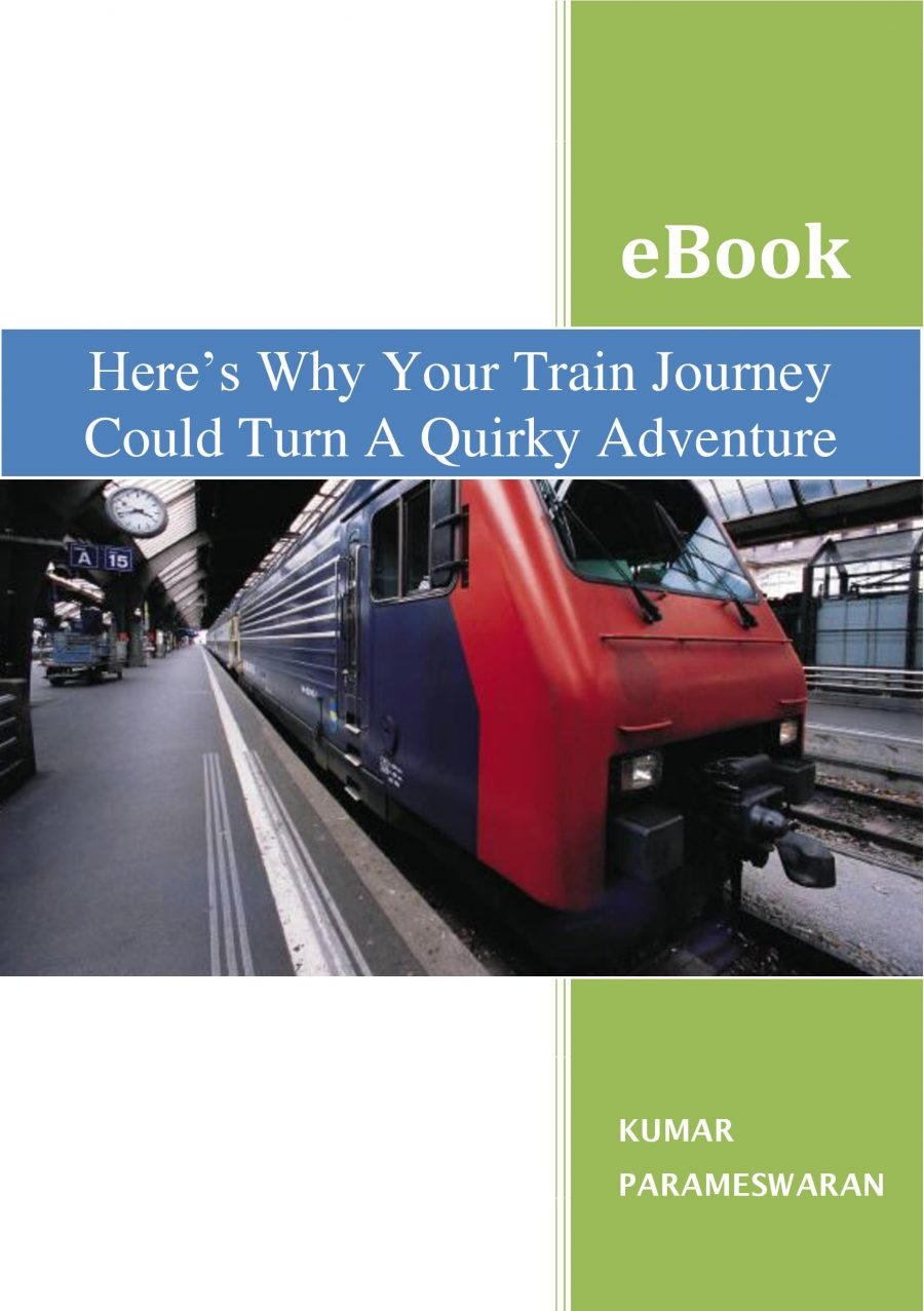 Book Review of Here's Why Your Train Journey Could Turn A Quirky Adventure