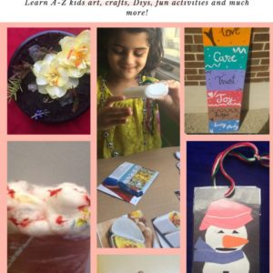 Book Review of Creative Kids (DIY, fun, art & craft), Debut book by Dr. Surbhi Prapanna