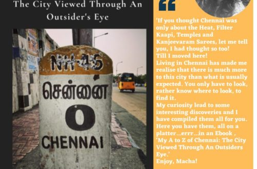 Book Review of My A TO Z of Chennai: The City Viewed Through An Outsiders Eye By Mayuri Nidigallu