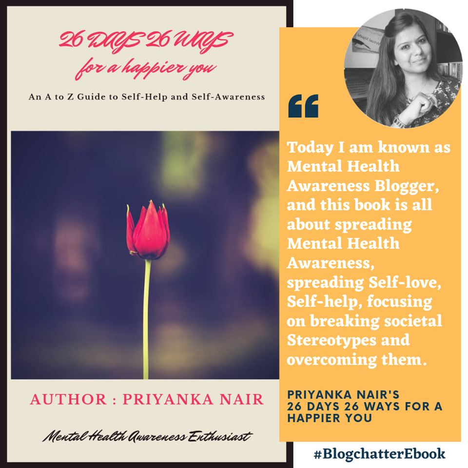 Book Review of 26 Days 26 Ways to a Happier You by Priyanka Nair