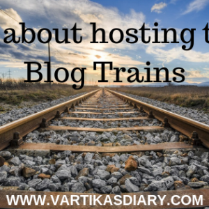 All about hosting the Blog Trains - a journey from participant to host