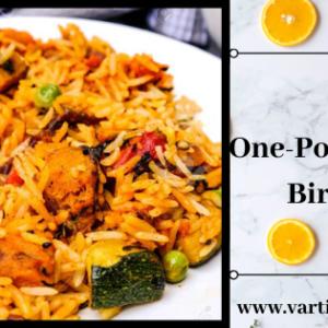 Let's cook One-pot instant aromatic biryani