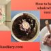 How to bake a perfect wholewheat eggless vanilla cake